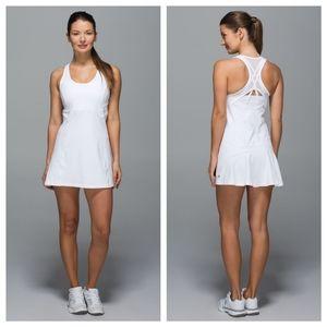Lululemon Ace Tennis Dress White 10